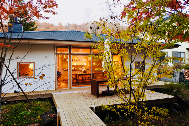 『FOREST BARN FLAT 軽井沢の家』オープンハウス開催しました!_e0029115_15163671.jpg
