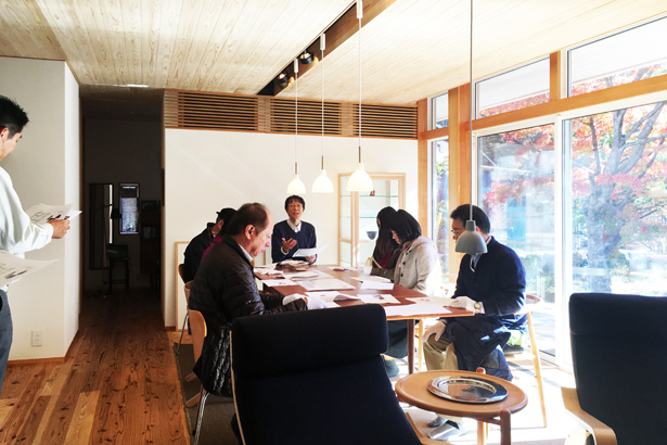 『FOREST BARN FLAT 軽井沢の家』オープンハウス開催しました!_e0029115_15220308.jpg