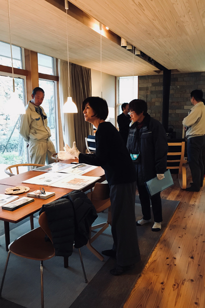 『FOREST BARN FLAT 軽井沢の家』オープンハウス開催しました!_e0029115_15242961.jpg
