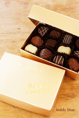 See\'s Candies  シーズキャンディーズのトリュフチョコレート_e0253364_22510223.jpg