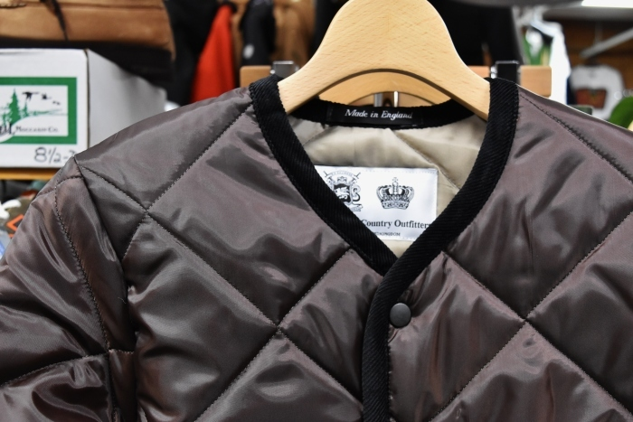 Hollingworth country outfitters ・・・ QUILTING JACKET (当店別注カラー)!★!_d0152280_12482256.jpg