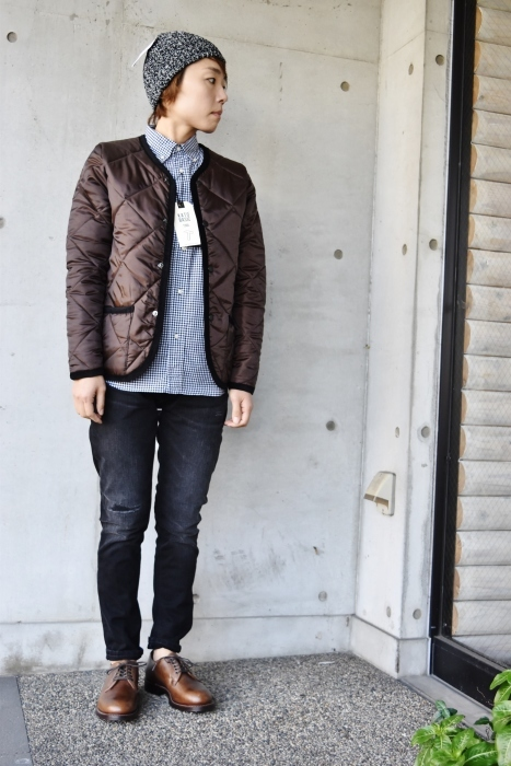 Hollingworth country outfitters ・・・ QUILTING JACKET (当店別注カラー)!★!_d0152280_12533483.jpg
