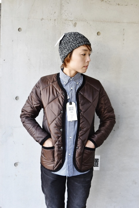 Hollingworth country outfitters ・・・ QUILTING JACKET (当店別注カラー)!★!_d0152280_12541959.jpg