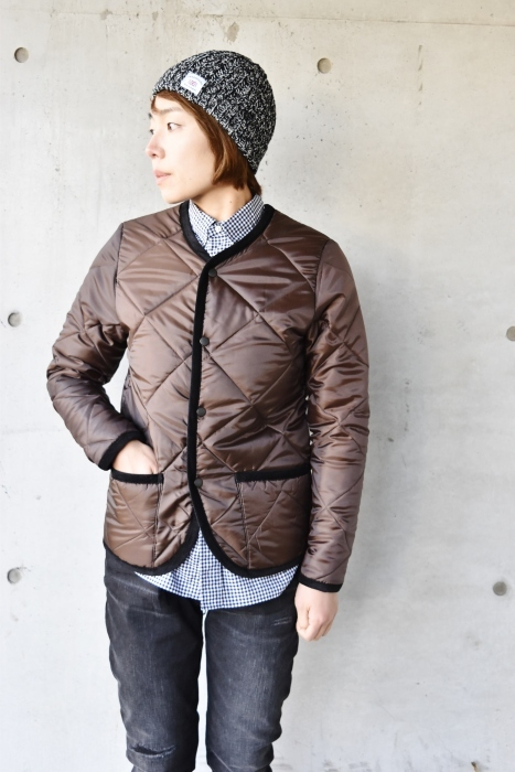 Hollingworth country outfitters ・・・ QUILTING JACKET (当店別注カラー)!★!_d0152280_12551173.jpg