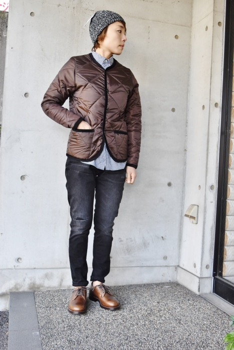 Hollingworth country outfitters ・・・ QUILTING JACKET (当店別注カラー)!★!_d0152280_12553246.jpg