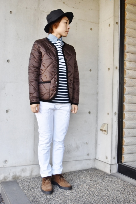 Hollingworth country outfitters ・・・ QUILTING JACKET (当店別注カラー)!★!_d0152280_12591836.jpg