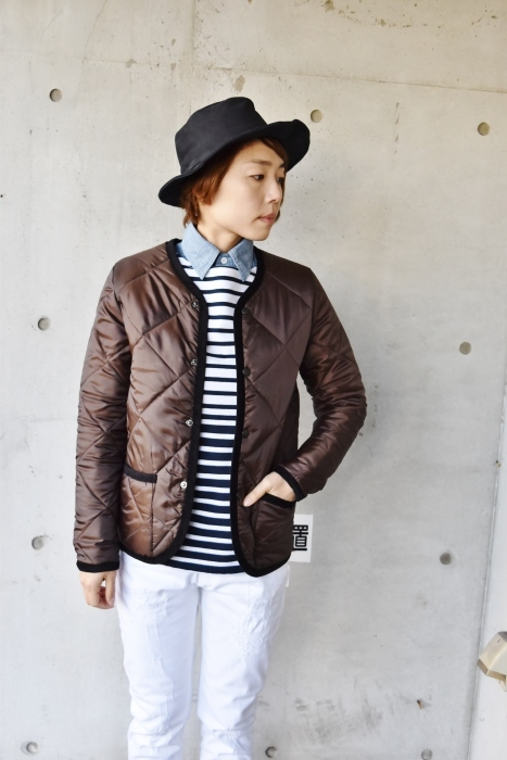 Hollingworth country outfitters ・・・ QUILTING JACKET (当店別注カラー)!★!_d0152280_12593926.jpg
