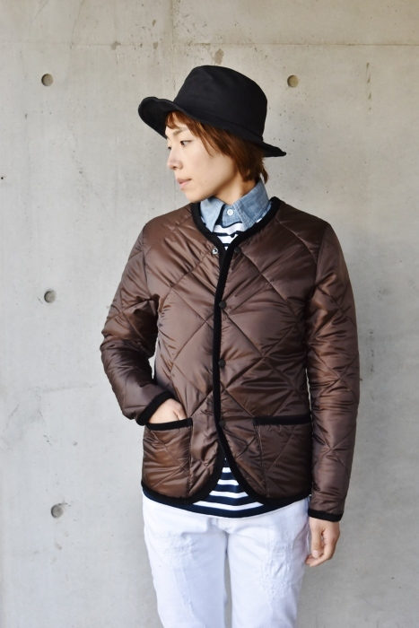 Hollingworth country outfitters ・・・ QUILTING JACKET (当店別注カラー)!★!_d0152280_13000876.jpg