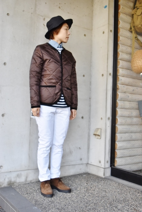 Hollingworth country outfitters ・・・ QUILTING JACKET (当店別注カラー)!★!_d0152280_13003037.jpg