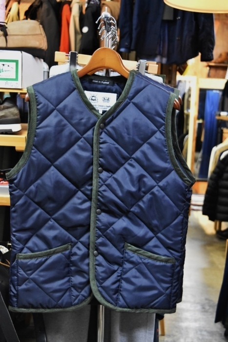 Hollingworth country outfitters ・・・ QUILTING JACKET (当店別注カラー)!★!_d0152280_13042665.jpg
