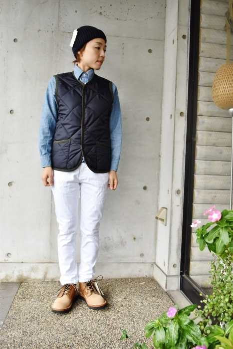 Hollingworth country outfitters ・・・ QUILTING JACKET (当店別注カラー)!★!_d0152280_13050952.jpg