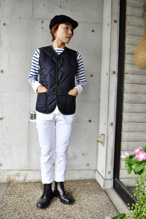Hollingworth country outfitters ・・・ QUILTING JACKET (当店別注カラー)!★!_d0152280_13053502.jpg