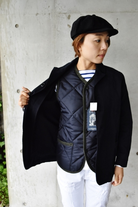 Hollingworth country outfitters ・・・ QUILTING JACKET (当店別注カラー)!★!_d0152280_13060915.jpg