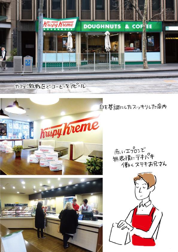 【メルボルンドーナツ旅:その7】Krispy Kreme Doughnuts【なんと、ベーグルがある!】_d0272182_17403728.jpg