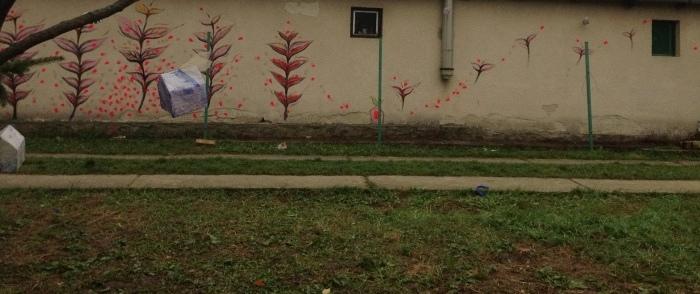 秋の中の春ー桜    展覧会BERCELハンガリー_c0100195_14190217.jpg