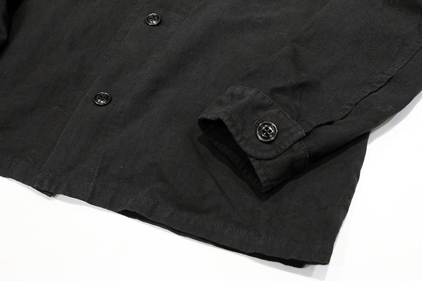 """ink (インク) Dyed Antique Linen Fatigue Shirts \"""" NOTHING FATIGUE \""""_b0122806_12472965.jpg"""