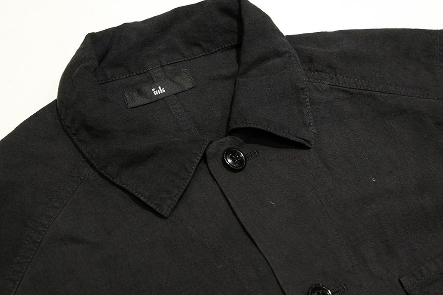 """ink (インク) Dyed Antique Linen Fatigue Shirts \"""" NOTHING FATIGUE \""""_b0122806_12474094.jpg"""