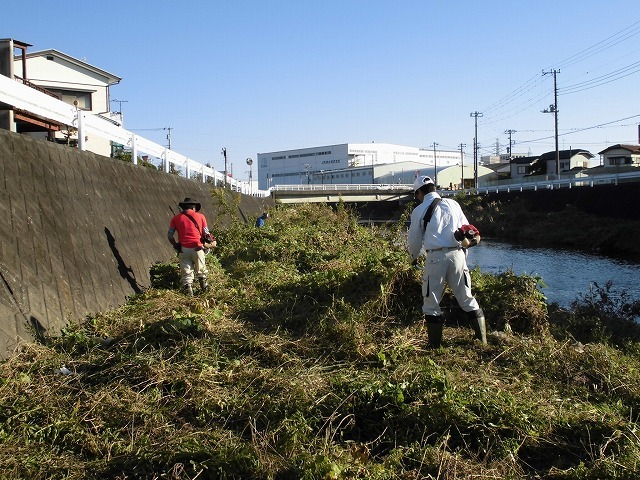 久々の「小潤井川の草刈り清掃」と、「ホルモン忠ちゃん」で久々の「締めのラーメン」_f0141310_08164925.jpg