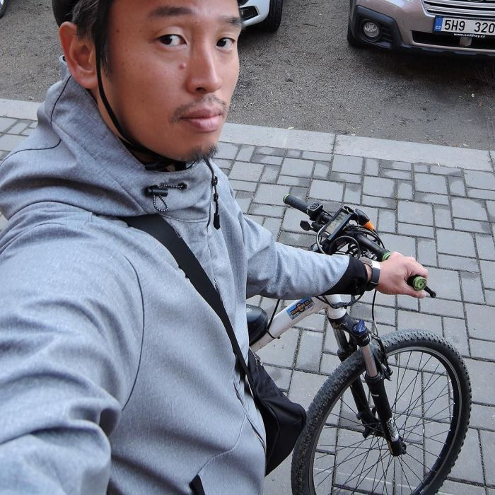 【PR記事】 雨の日も出かけたくなるワークマンの「耐久撥水ウォームジャケット」_c0060143_21223242.jpg