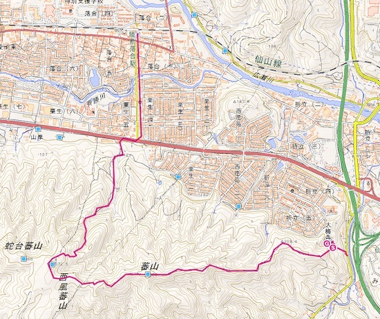 里山登山 2_c0063348_16154279.jpg