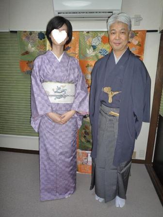 9周年・二本目のきもの鶴オリジナル・龍の帯のお客様。_f0181251_1845976.jpg