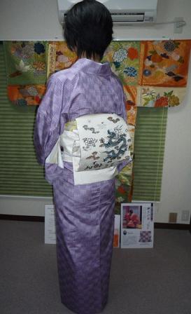 9周年・二本目のきもの鶴オリジナル・龍の帯のお客様。_f0181251_18463736.jpg