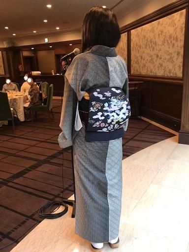 9周年・二本目のきもの鶴オリジナル・龍の帯のお客様。_f0181251_1852396.jpg