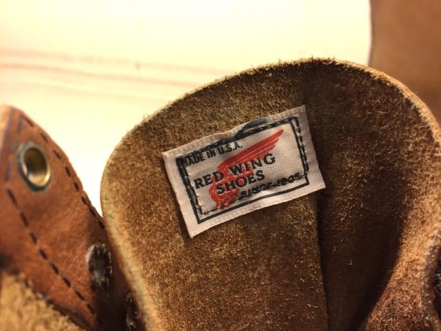 11月8日(水)大阪店ヴィンテージ入荷!!#6 Hunting&Work編Part2!!NOS RedWing&Nel&HINSON!!_c0078587_25481.jpg