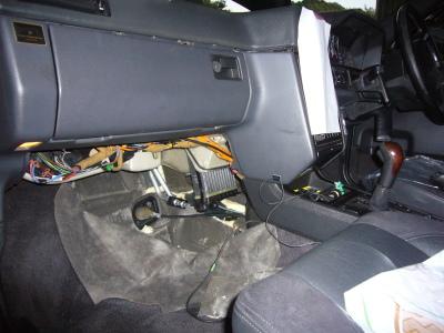 ボルボ 850 T5-R 冷却水漏れ修理(ヒーターコア)_c0267693_17024599.jpg