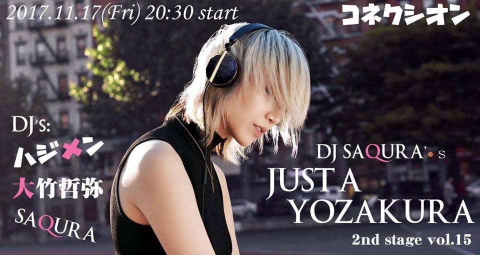 11/17(金)DJ SAQURAの夜桜ですが。2nd stage vol.15_c0099300_13133801.jpg