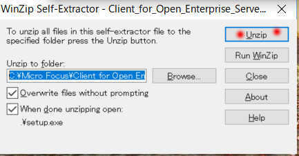 Microforcus Client for Open Enterprise Server 2 の Windows10 へのインストール_a0056607_20120517.jpg