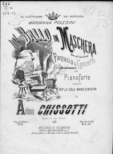 キッソッティ:左手のためのヴェルディの歌劇「仮面舞踏会」の演奏会用幻想曲_b0189423_21095277.jpg