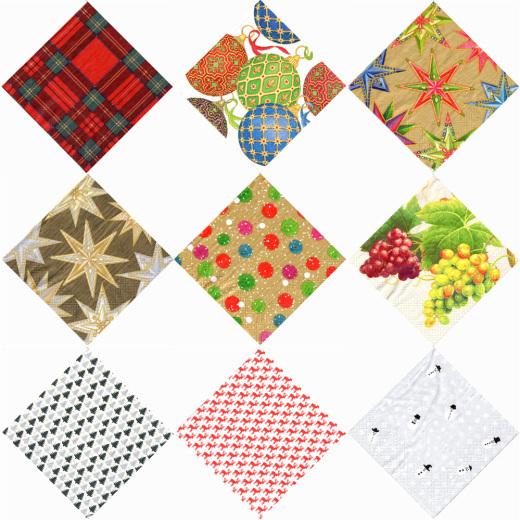 ◆クリスマス柄などペーパーナプキン15種類、ショップサイトにUPしました♪_f0251032_11000376.jpg