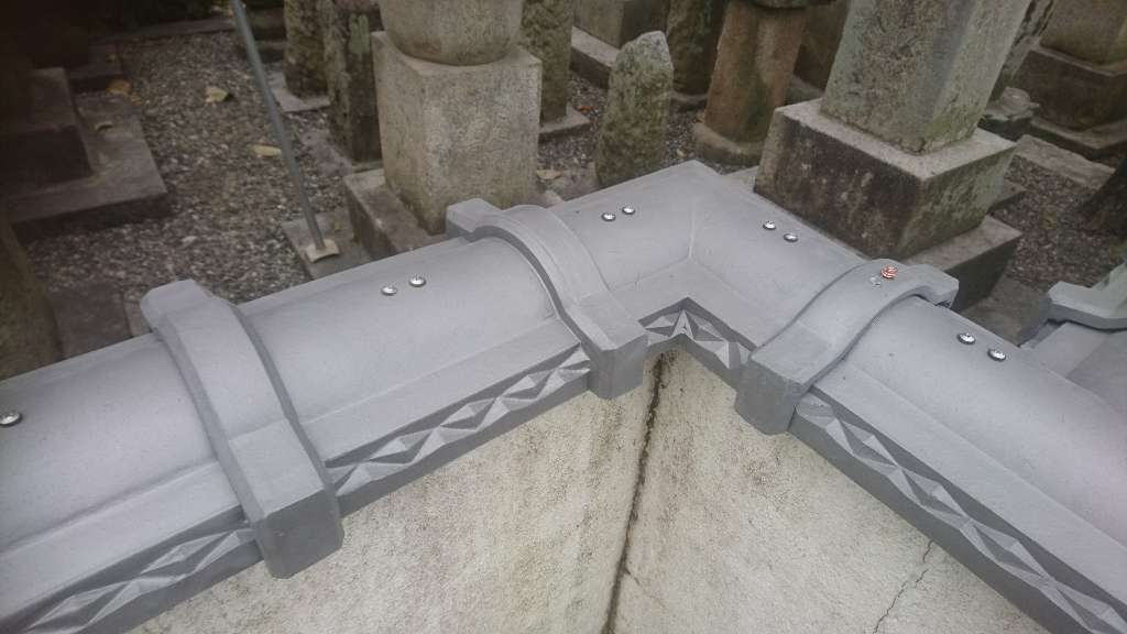 甲州市  銀色の塀瓦  其の三_b0242734_21531392.jpg