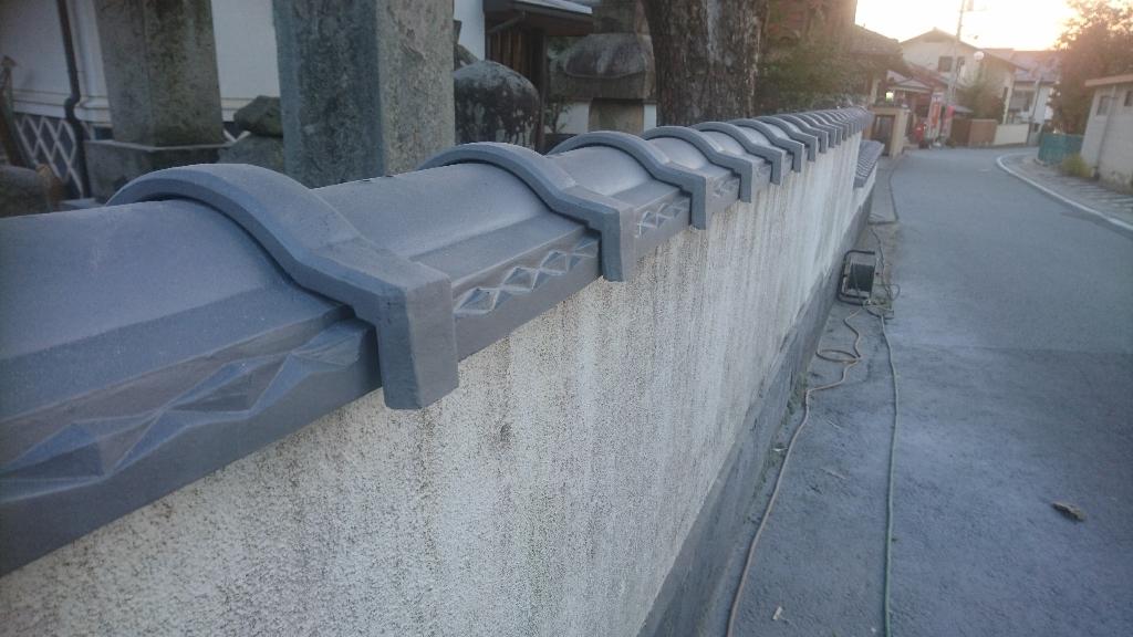 甲州市  銀色の塀瓦  其の三_b0242734_21531547.jpg
