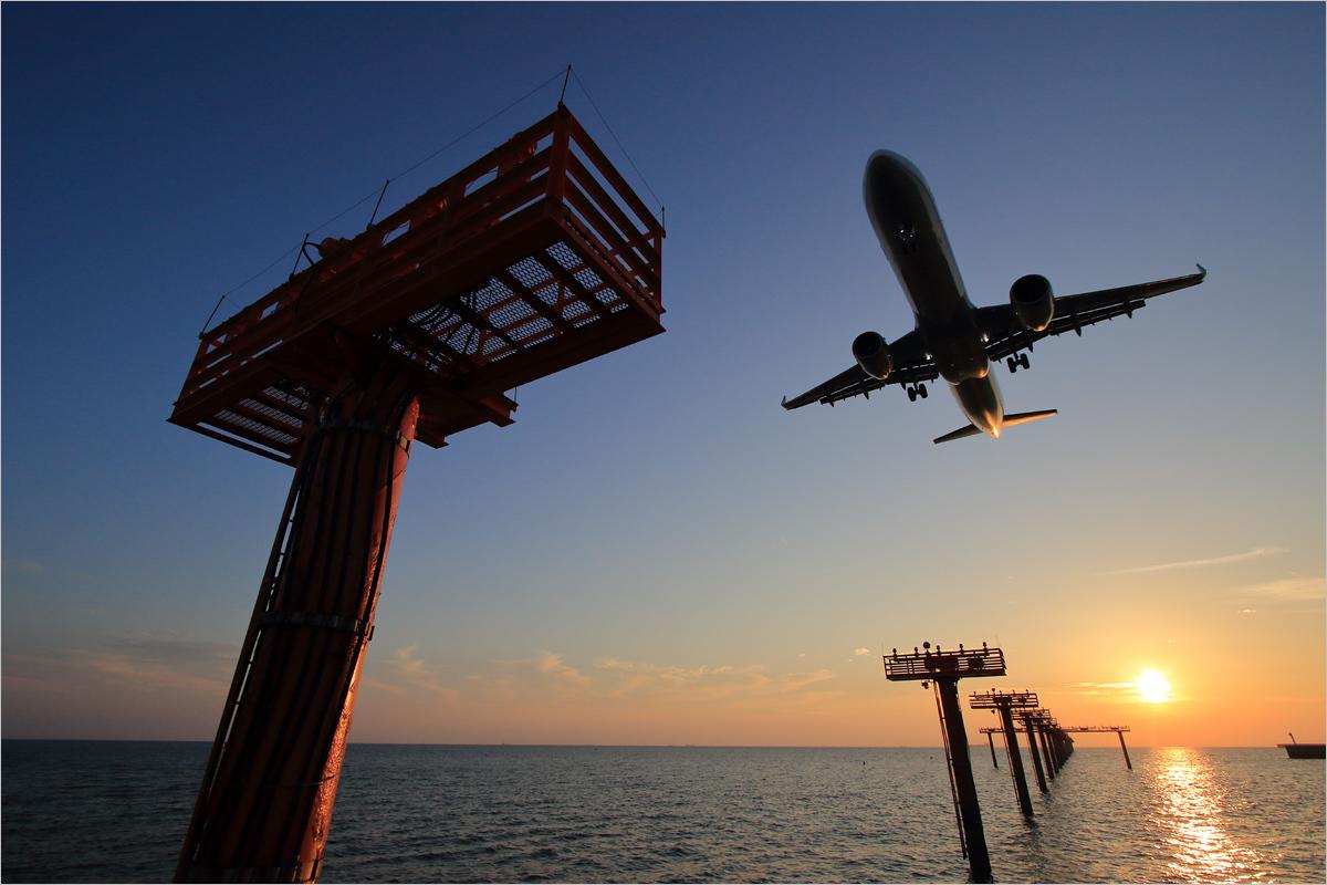 周防灘と影~A321neo~ - 山口宇部空港_c0308259_09272928.jpg