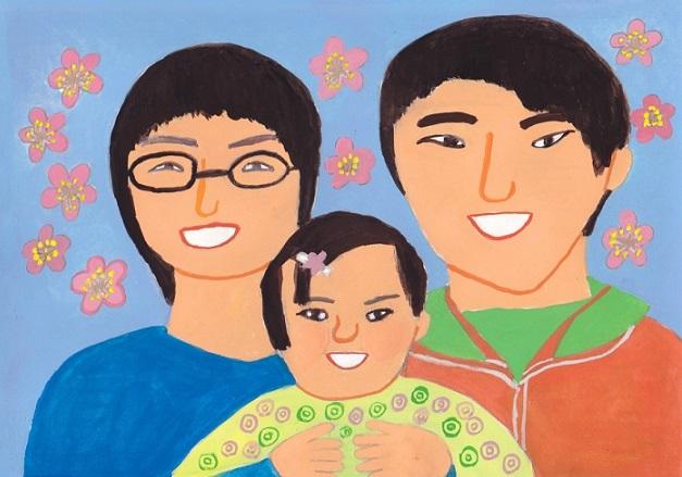 「三人家族 最新の」_d0259392_14120284.jpg