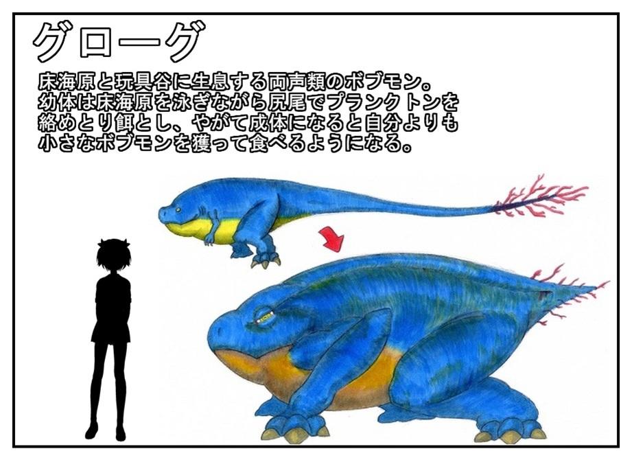 室内生態系ボブモン図鑑_f0205396_19210909.jpg