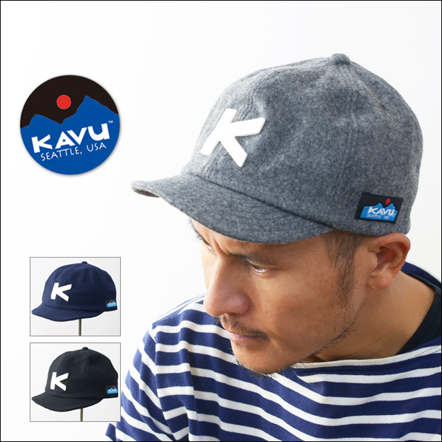 KAVU [カブー] WOOL BASEBALL CAP [19820318] ウールベースボールキャップ・ウールキャップ・MEN\'S/LADY\'S_f0051306_21182737.jpg