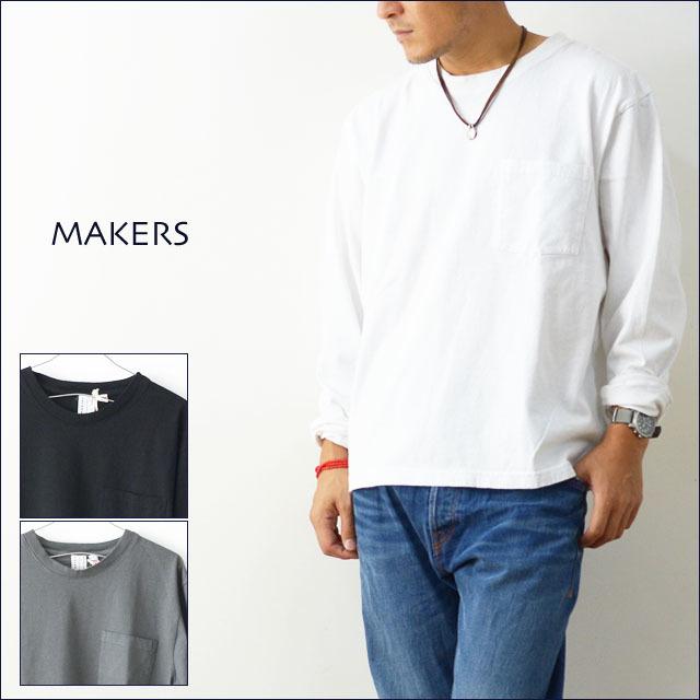 MAKERS [メーカーズ] アメリカ生産 AMERICAN FIT L/S T-SHIRTS[MAKE003 17FW] アメリカンフィットロングスリーブTシャツ MEN\'S_f0051306_21404827.jpg