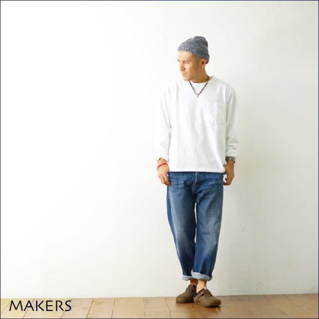 MAKERS [メーカーズ] アメリカ生産 AMERICAN FIT L/S T-SHIRTS[MAKE003 17FW] アメリカンフィットロングスリーブTシャツ MEN\'S_f0051306_21405666.jpg
