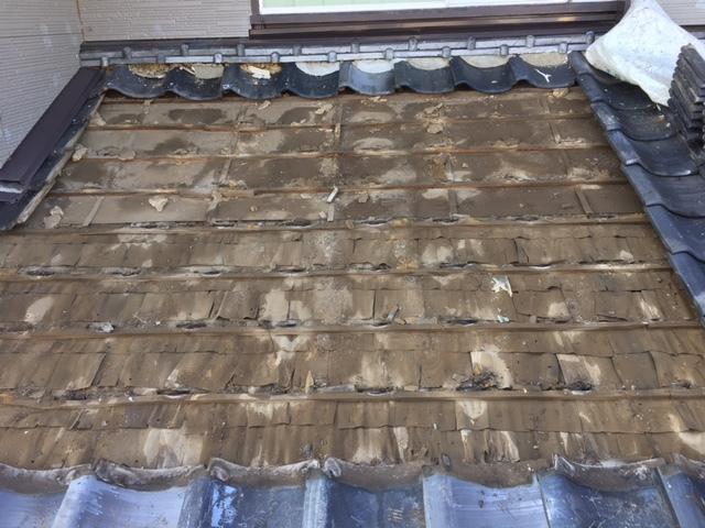 瓦屋根、破風板、軒天修繕工事_f0140817_16052884.jpg