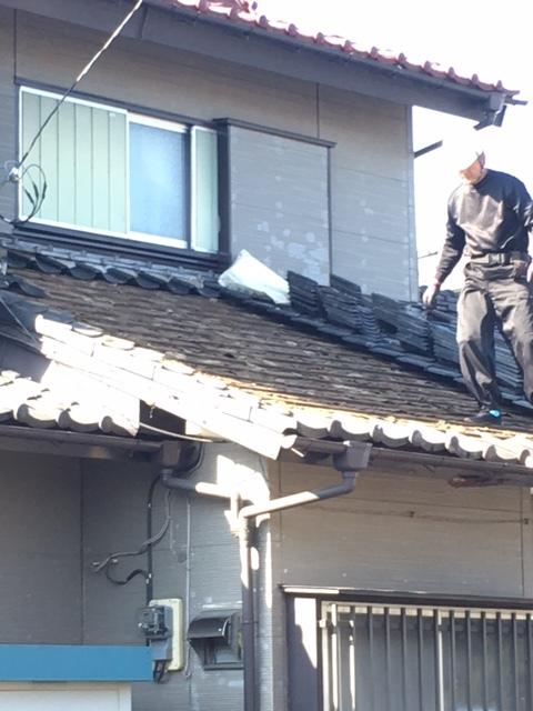 瓦屋根、破風板、軒天修繕工事_f0140817_16055800.jpg