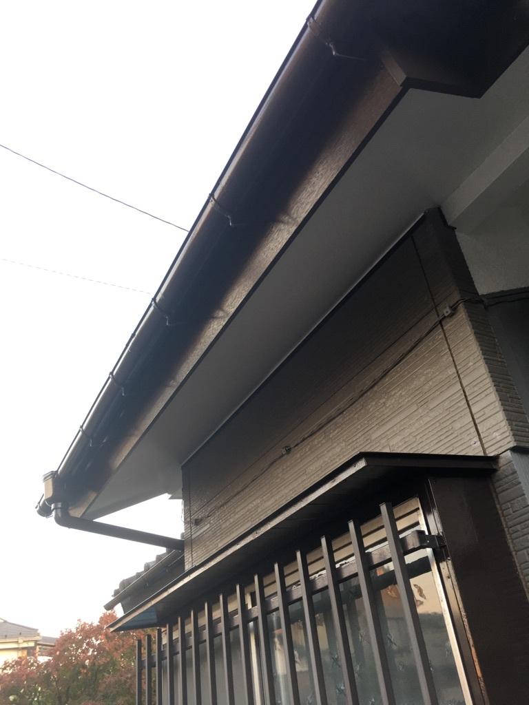 瓦屋根、破風板、軒天修繕工事_f0140817_16061701.jpg