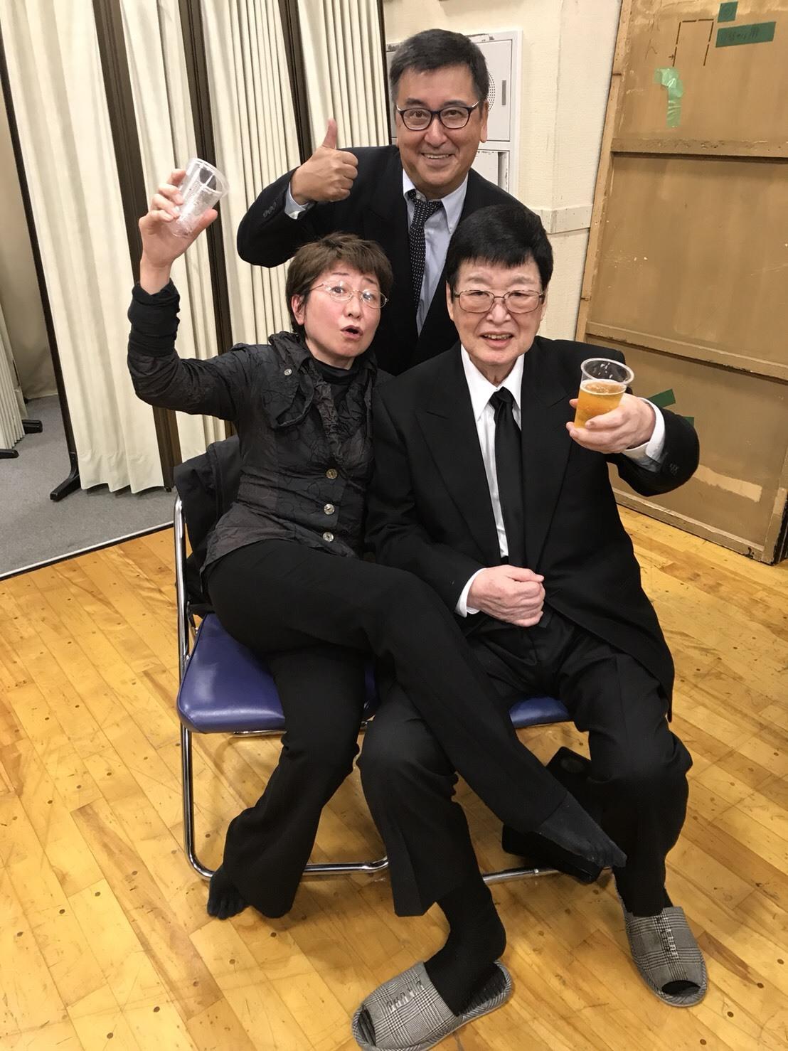 テアトル・エコーの大先輩のお別れ会_a0163623_22304854.jpg