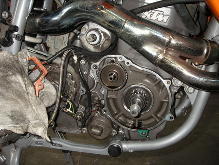 KTM640 ADVENTURE フリーホイル(ワンウェイパーツ)_e0218639_10233557.jpg