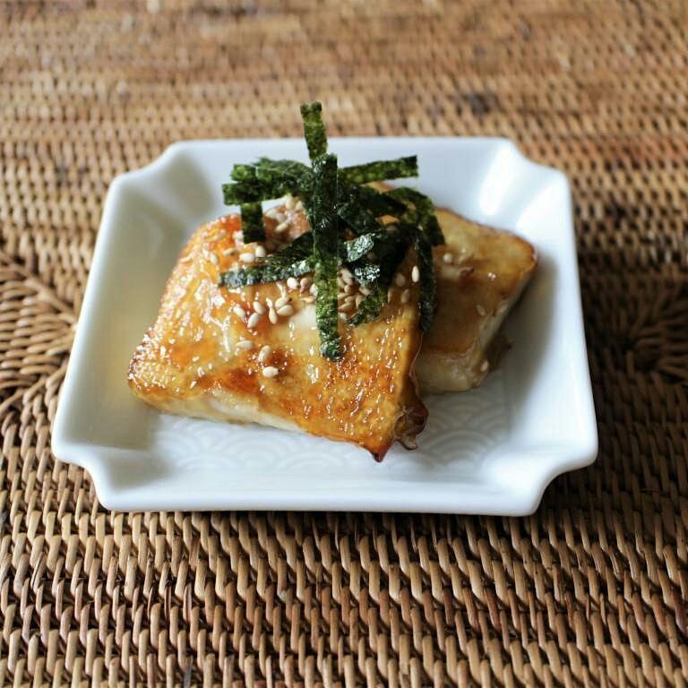 焼き長芋の肉味噌のせ_f0220354_17312193.jpg