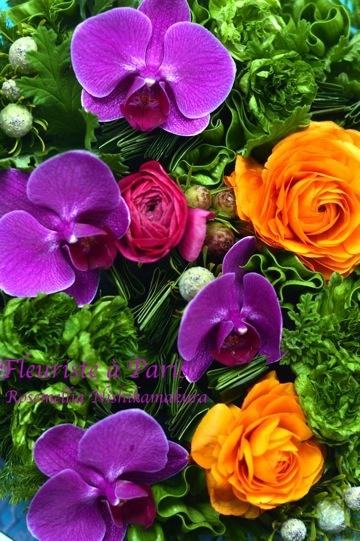 「Fleuriste à Paris」パリのお花屋さんレッスン_d0078355_19554042.jpg