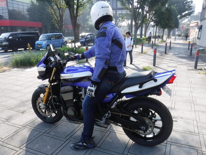 ZRX1200R・・・確実な点検整備で快調キープ♪_a0163159_21543558.jpg