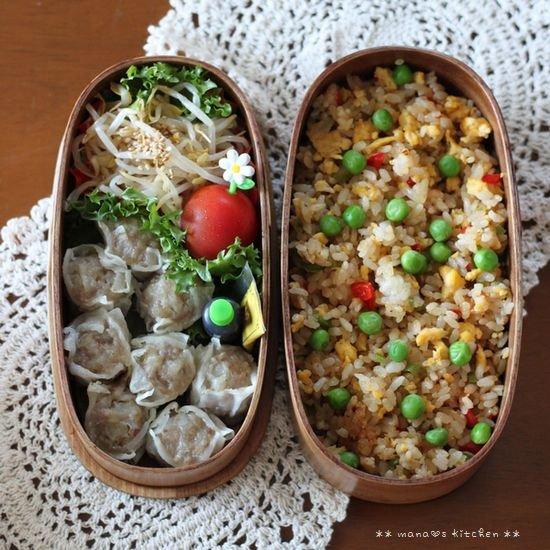 シウマイ&炒飯 ✿ 豚汁定食(๑¯﹃¯๑)♪_c0139375_1155449.jpg